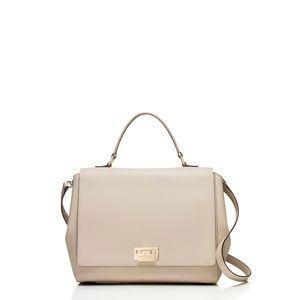 Kate Spade Laurel Magnolia Park Leather Suede Crossbody Satchel Shoulder Bag